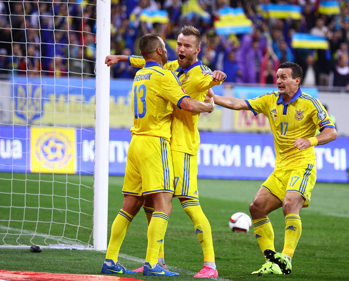 Германия - Украина: онлайн-трансляция матча Евро-2016/Украинская сборная де ...