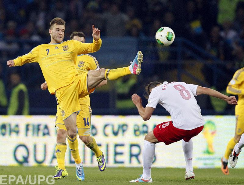 Евро-2016. Украина уступила Польше